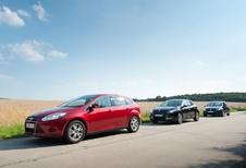 Ford Focus 1.0 Ecoboost 100, Renault Mégane 1.2 TCE 115 et Volkswagen Golf 1.2 TSI 105 : Renverser la vapeur