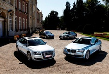 Audi A8 Hybrid, BMW ActiveHybrid 7, Infiniti M35h et Mercedes S 400 Hybrid : Les investisseurs