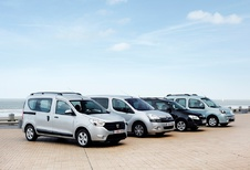 Citroën Berlingo 1.6 HDi 115, Dacia Dokker 1.5 dCi 90, Renault Kangoo 1.5 dCi 100 en Skoda Roomster 1.6 TDI 90 : Mag het wat minder zijn?