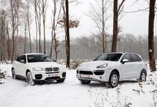 BMW X6 M50d en Porsche Cayenne S Diesel : Op één paardje na...
