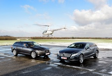 Jaguar XF 2.2 Td Sportbrake & Mercedes CLS 250 CDI Shooting Brake : Les vitrines du style