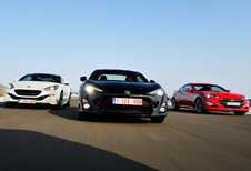 Hyundai Genesis Coupé, Peugeot RCZ en Toyota GT86 : Wintersport