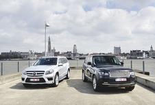 Mercedes GL vs Range Rover : Le gratin de tout terrain