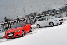 Audi A3 Sportback 1.8 TFSI A vs Volvo V40 T4 : Out of the box