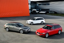 Audi A4 Avant 2.0 TDI 143, BMW 318d Touring et Mercedes C 200 CDI Break : On prend les mêmes