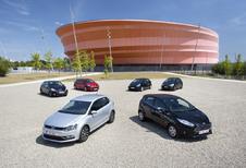 Citroën C3 1.6 e-HDi 92, Ford Fiesta 1.6 TDCi 95 ECOnetic, Kia Rio 1.4 CRDi 90, Peugeot 208 e-HDi 92, Renault Clio 1.5 dCi 90 et Volkswagen Polo 1.4 CRTDI 90 BMT : Nouvelle donne!
