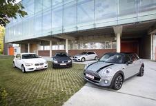 BMW 1-Reeks, Mercedes A-Klasse, Mini 5-deurs en Volkswagen Golf : Grootheidswaanzin?