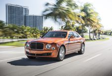 Bentley Mulsanne Speed, dopage des pur-sang