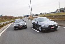 BMW 530dA BLUEPERFORMANCE • MERCEDES E 350 CDI BLUETEC : Oude vetes