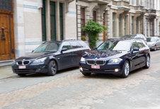 BMW 520d TOURING : Valse bescheidenheid