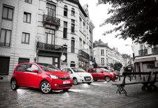 FIAT PANDA 0.9 TWINAIR // SKODA CITIGO 1.0 // SUZUKI ALTO 1.0 FIAT DOET : Kwik, Kwek en Kwak