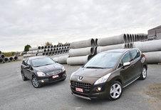 NISSAN QASHQAI+2 2.0 dCi 4WD • PEUGEOT 3008 2.0 HDi: Mengvormen
