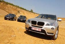 AUDI Q5 2.0 TDI QUATTRO • BMW X3 xDRIVE20d • MERCEDES GLK 220 CDI 4MATIC : SUV-piekeren