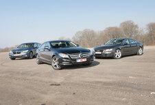 AUDI A7 3.0 TFSI • BMW 535i GT • MERCEDES CLS 350 CGI : Andere verhoudingen