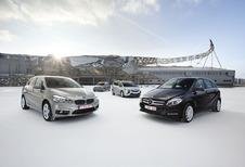 BMW Série 2 Active Tourer, Mercedes Classe B, Opel Zafira et Volkswagen Golf Sportsvan : Cinq à sept