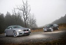 BMW M5 • MERCEDES E 63 AMG : Koningskwestie