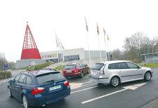 BMW 320d • JAGUAR X-TYPE 2.2D • SAAB 9-3 1.9 TiD SPORT-HATCH : Rugzak met luxelabel