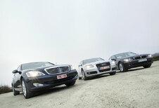 Audi A8 3.2 FSI • BMW 730i • Mercedes S 350 : Machtsstrijd