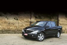 SSANGYONG ACTYON SPORTS Xdi 200 4WD : Voorbij boer en tuinder?