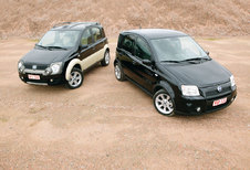 FIAT PANDA 100 HP & CROSS : Playmobil