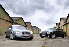 AUDI S6 AVANT • CHRYSLER 300C TOURING SRT-8 : Fast Delivery