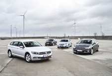 Ford Mondeo Clipper 2.0 TDCi 150, Peugeot 508 SW 2.0 BlueHDi 150, Opel Insignia Sports Tourer 2.0 CDTI ecoFLEX en Volkswagen Passat Variant 2.0 TDI 150 : Duits of Frans?