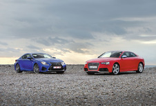 Audi RS5 vs Lexus RC F : Machtsvertoon