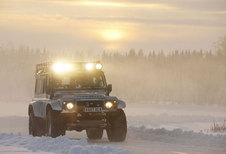 DEFENDER BIGFOOT (2012) - Sneeuwtest