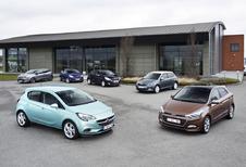 Ford Fiesta 1.0 EcoBoost, Hyundai i20 1.2, Opel Corsa 1.0 Turbo ecoFlex, Peugeot 208 1.2 PureTech, Renault Clio 0.9 TCe en ŠŠkoda Fabia 1.2 TSI : Turbo generatie