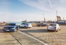 AUDI A4 2.0 TDI 150 // BMW 320D EDE // JAGUAR XE 2.0D 163 // MERCEDES C 22O D : A4-kamp