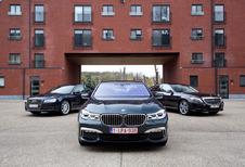 BMW 730d face à l'Audi A8 et la Mercedes Classe S 350d