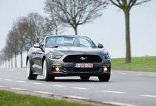 Ford Mustang Convertible 2.3 EcoBoost : À air comprimé