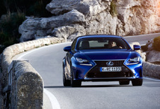 Lexus RC : Big in Japan