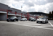 Porsche 911 Carrera A tegen drie concurrenten : Pret verzekerd