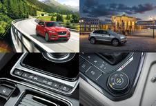AutoWereld probeert de Jaguar F-Pace en de Volkswagen Tiguan