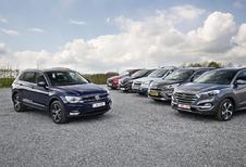 Volkswagen Tiguan tegen 5 middenklasse-SUV's