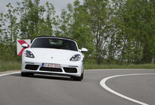 Porsche 718 Boxster A : Straffe basisversie