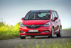 Opel Zafira : Recht in de roos