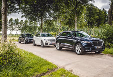 BMW X4 XDRIVE35D // JAGUAR F-PACE 3.0 D // PORSCHE MACAN S DIESEL : Designer-SUV's
