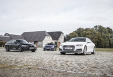 Audi A5 Coupé tegen 2 concurrenten