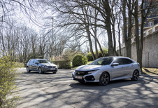 Honda Civic 1.0 i-VTEC contre VW Golf 1.0 TSI 110 #1