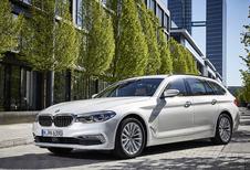 BMW 5-Reeks Touring : Verhuizen in zachtheid