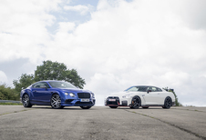 Bentley Continental Supersports vs Nissan GT-R Nismo
