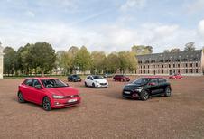 Volkswagen Polo en Ford Fiesta 2018 tegen 5 rivalen