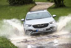 Opel Insignia Country Tourer : Le choix d'itinéraire