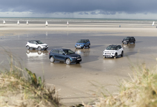 Citroën C3 Aircross contre 4 rivales