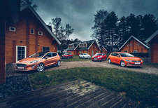 CITROËN C3 PURETECH 110 // FORD FIESTA 1.0 ECOBOOST // NISSAN MICRA IG-T 90 // RENAULT CLIO ENERGY TCe 120 // VOLKSWAGEN POLO 1.0 TSI : Tienerpuisten