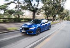 Honda Civic 1.6 i-DTEC: Nakomertje