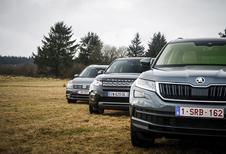 Volkswagen Tiguan Allspace tegen 2 rivalen