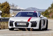 Audi R8 RWS: Pure sporter